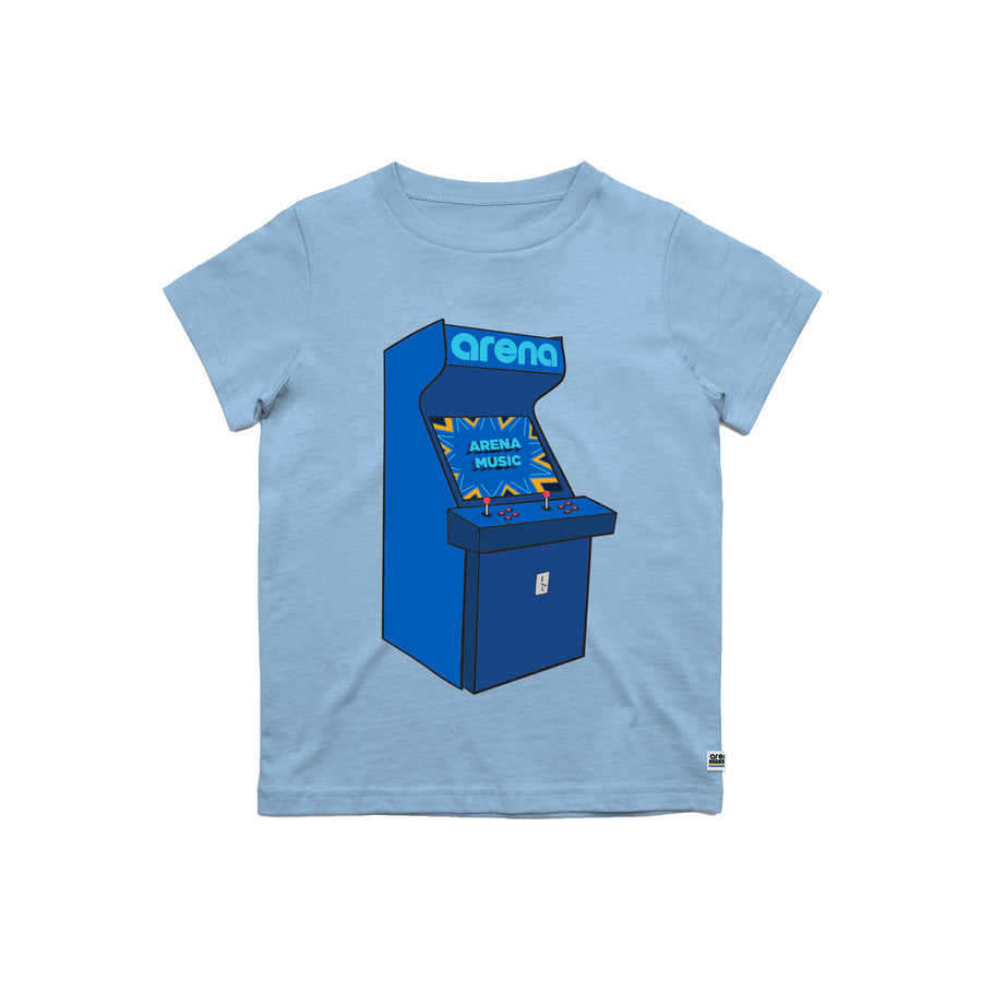 Arcade Carolina Blue Kid's Tee Shirt