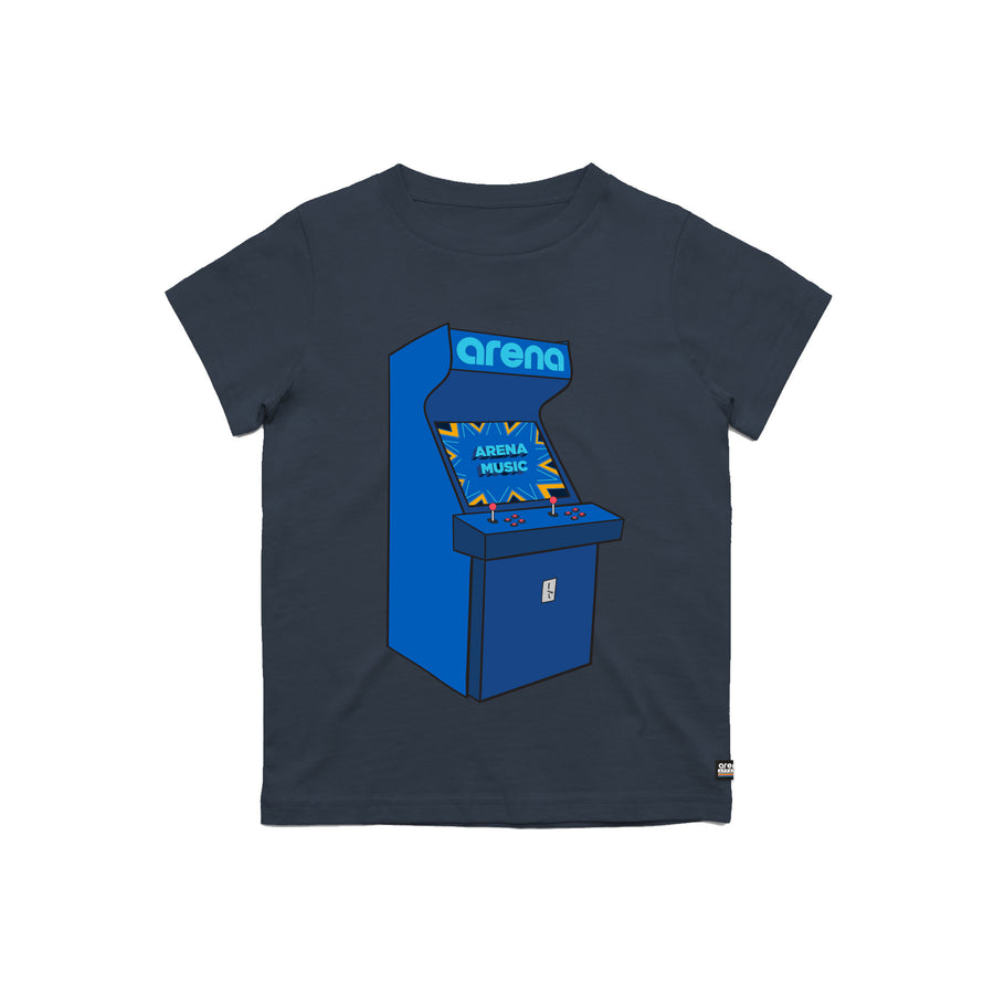 Arcade Navy Kid's Tee Shirt