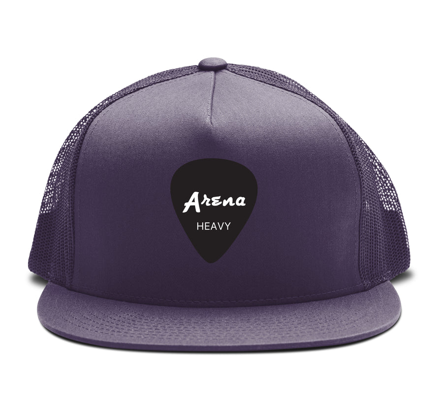 Arena Guitar Pick - Trucker Snapback Hat - Band Merch and On-Demand Designer Shirts