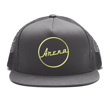 Arena Vintage - Trucker Snapback Hat - Band Merch and On-Demand Designer Shirts