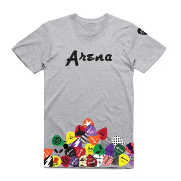 Arena Guitar Picks - Unisex All Over Tee Shirt - Band Merch and On-Demand Designer Shirts