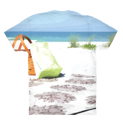 Arena Stereo On The Beach All Over Unisex Tee Shirt