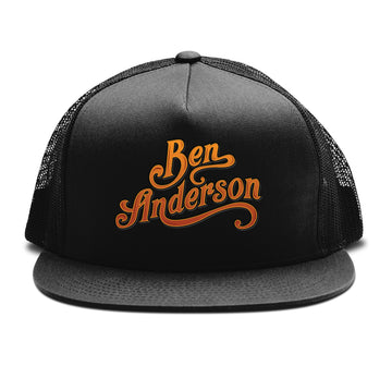 Ben Anderson - Trucker Snapback Hat - Band Merch and On-Demand Designer Shirts