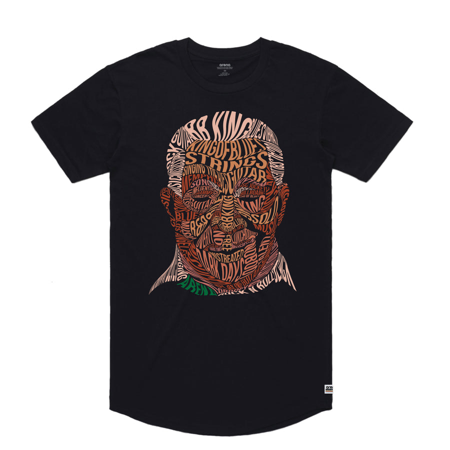 BB King - Men's Curved Hem Tee Shirt
