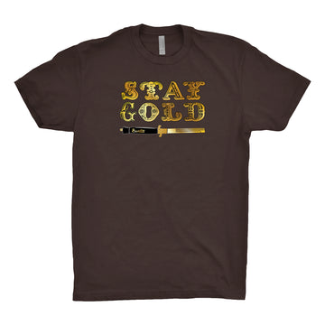 Banta - Stay Gold Unisex Tee Shirt | Arena