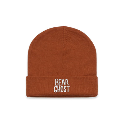 Bear Ghost Beanie Copper