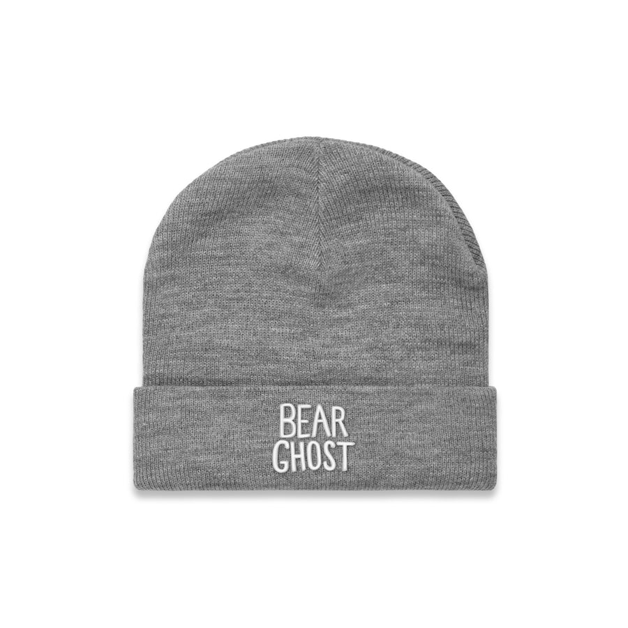 Bear Ghost Beanie Heather Grey