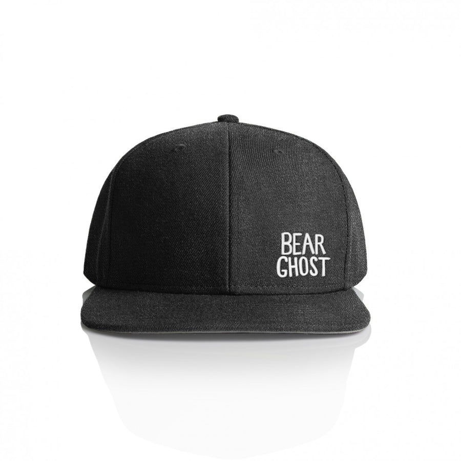 Bear Ghost Hat Dark Grey