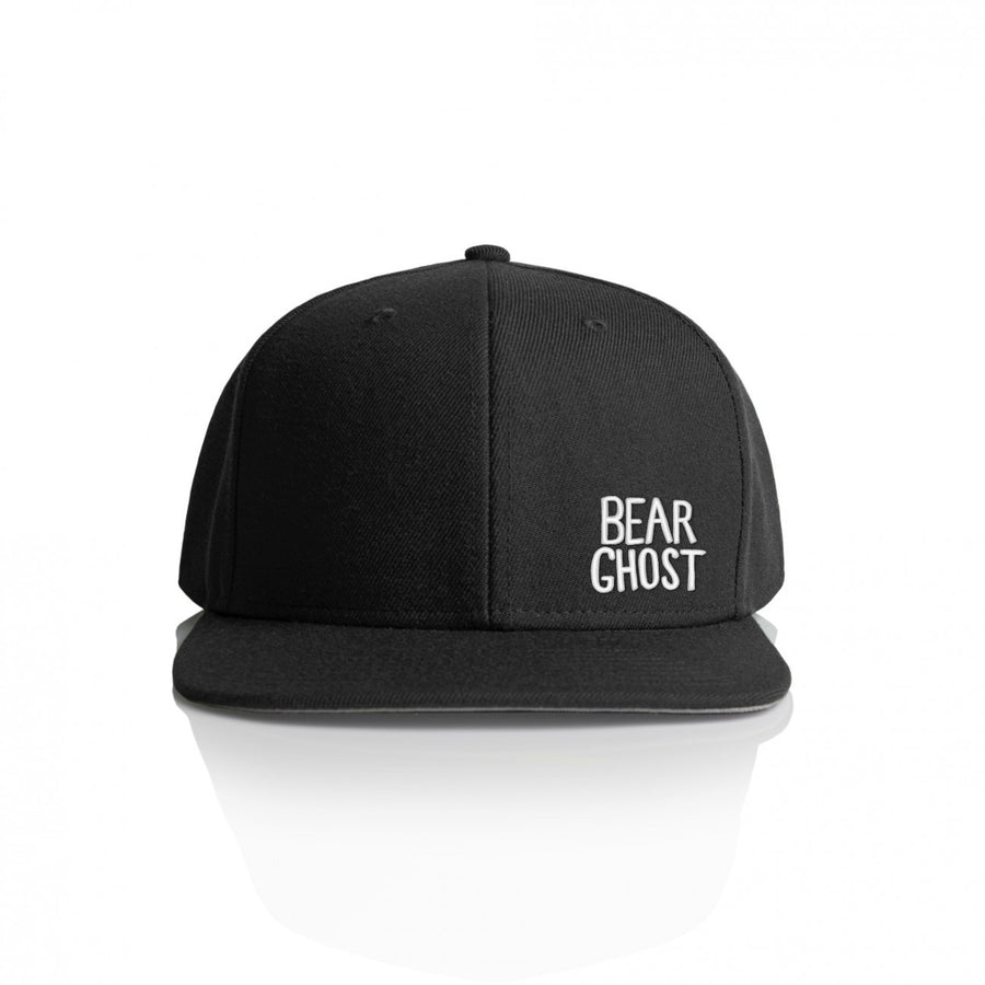 Bear Ghost Hat Black