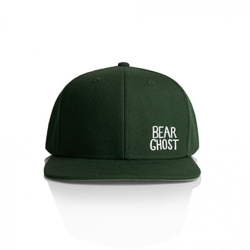 Bear Ghost Hat Green