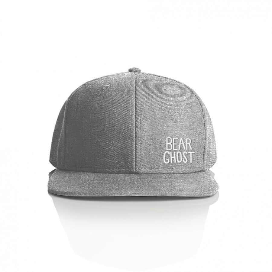 Bear Ghost Hat Heather Grey