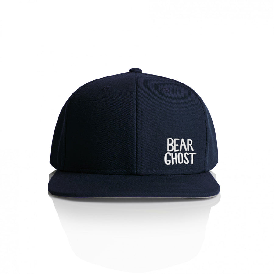Bear Ghost Hat Navy