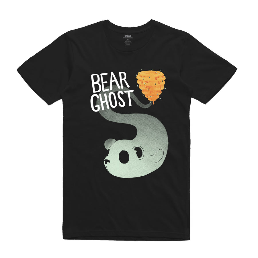 Bear Ghost - Hive: Unisex Tee Shirt