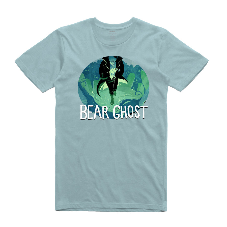 Bear Ghost - Necromancin': Unisex Tee Shirt | Arena - Band Merch and On-Demand Designer Shirts