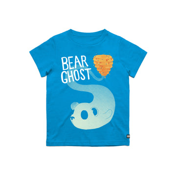 Bear Ghost Youth Tee Blue