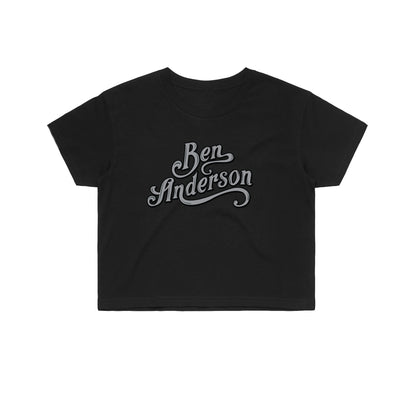 Ben Anderson - Women's Cropped Tee Shirt
