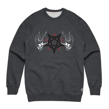 Black Metal - Unisex Lightweight Pullover Sweatshirt - Band Merch and On-Demand Designer Shirts