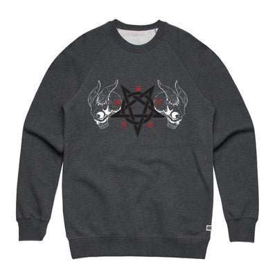 Black Metal Asphalt Sweatshirt