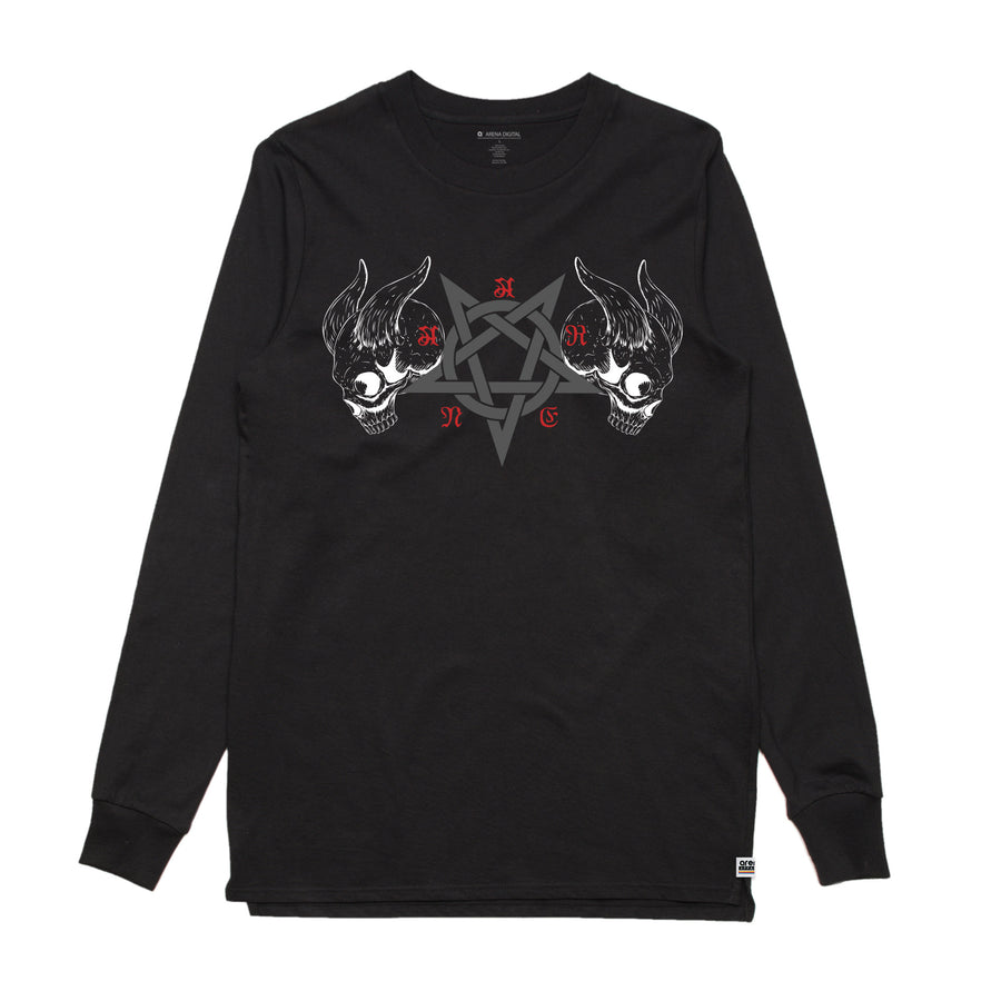 Black Metal Black Long Sleeve Shirt