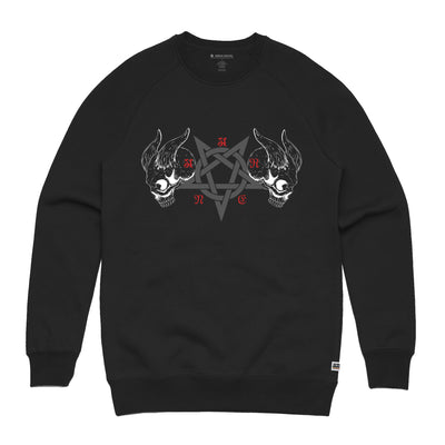 Black Metal Black Sweatshirt