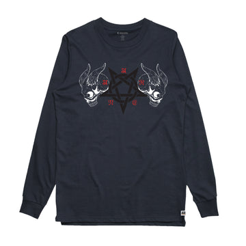 Black Metal -  Men's Long Sleeve Tee Shirt - Band Merch and On-Demand Designer Shirts