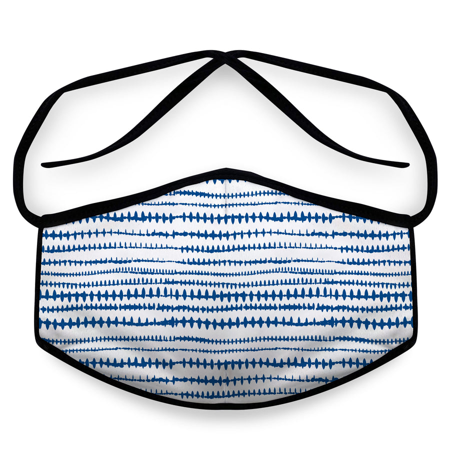 Blue Stitch- Reusable Cloth Face Mask, Face Cover, Festival Cover | Arena - Band Merch and On-Demand Designer Shirts