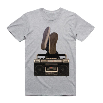 Boom Box - Unisex Tee Shirt - Band Merch and On-Demand Designer Shirts