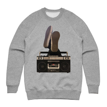 Boombox - Unisex Lightweight Pullover Sweatshirt - Band Merch and On-Demand Designer Shirts