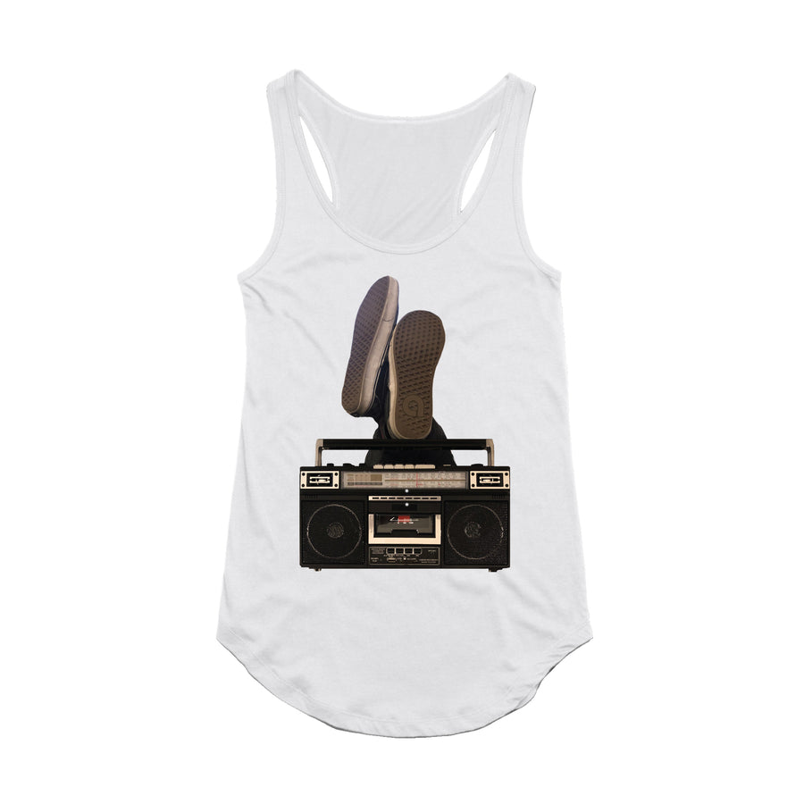 Boombox - Women's Tank Top - Band Merch and On-Demand Designer Shirts