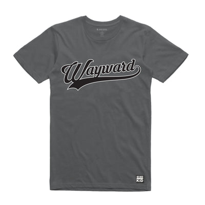 Charcoal Wayward Kid Script Unisex Tee Shirt