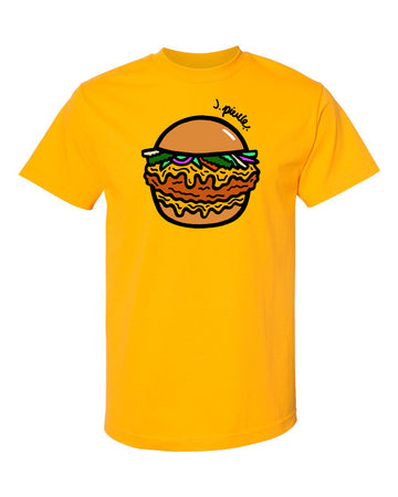 J. Pierce - Chicken Sandwich: Unisex Tee Shirt | Arena