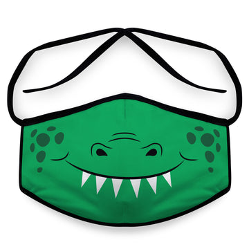 Crocodile- Arena Tour Mask (Includes 1 PM2.5 Carbon Filter) Reversible Face Mask