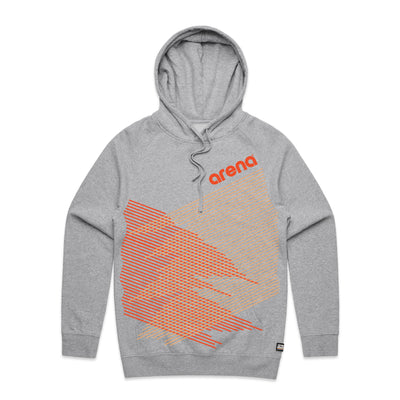 Crossing Lines Heather Grey Unisex Pullover Hoodie