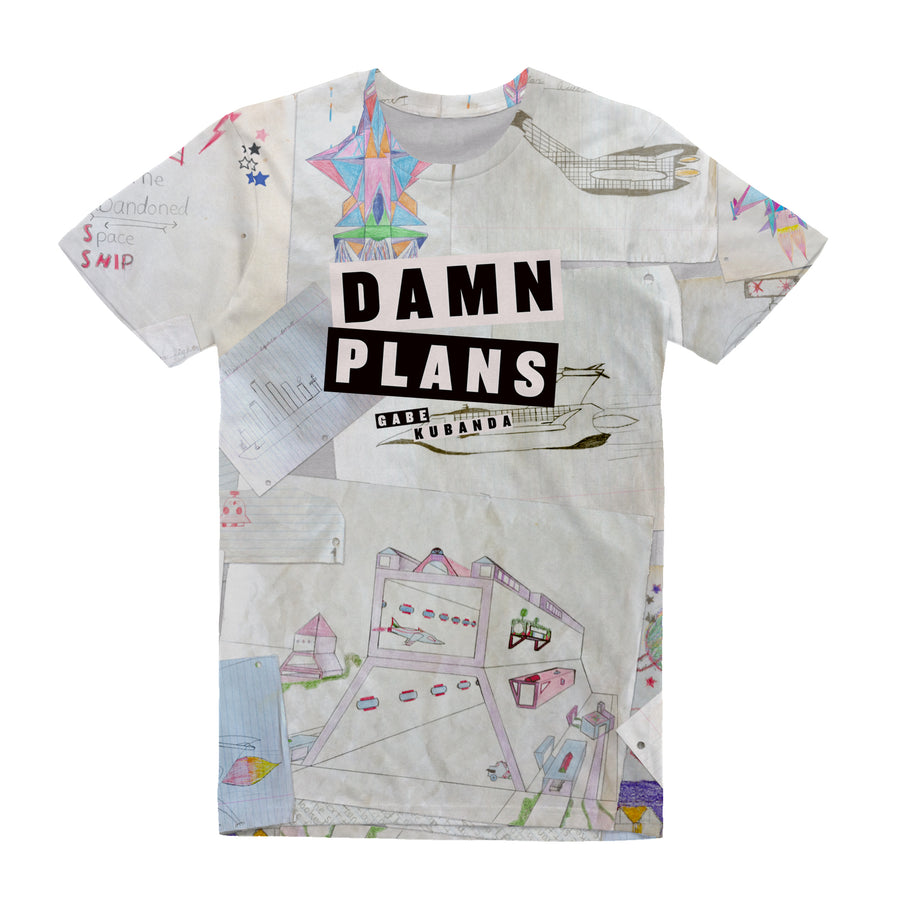 Gabe Kubanda - Damn Plans Unisex All Over Tee Shirt