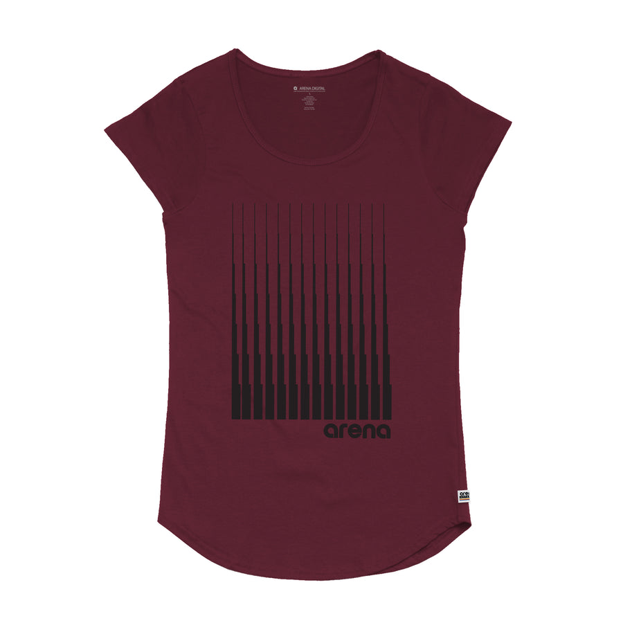 Denali -  Women's Curved Hem Tee Shirt