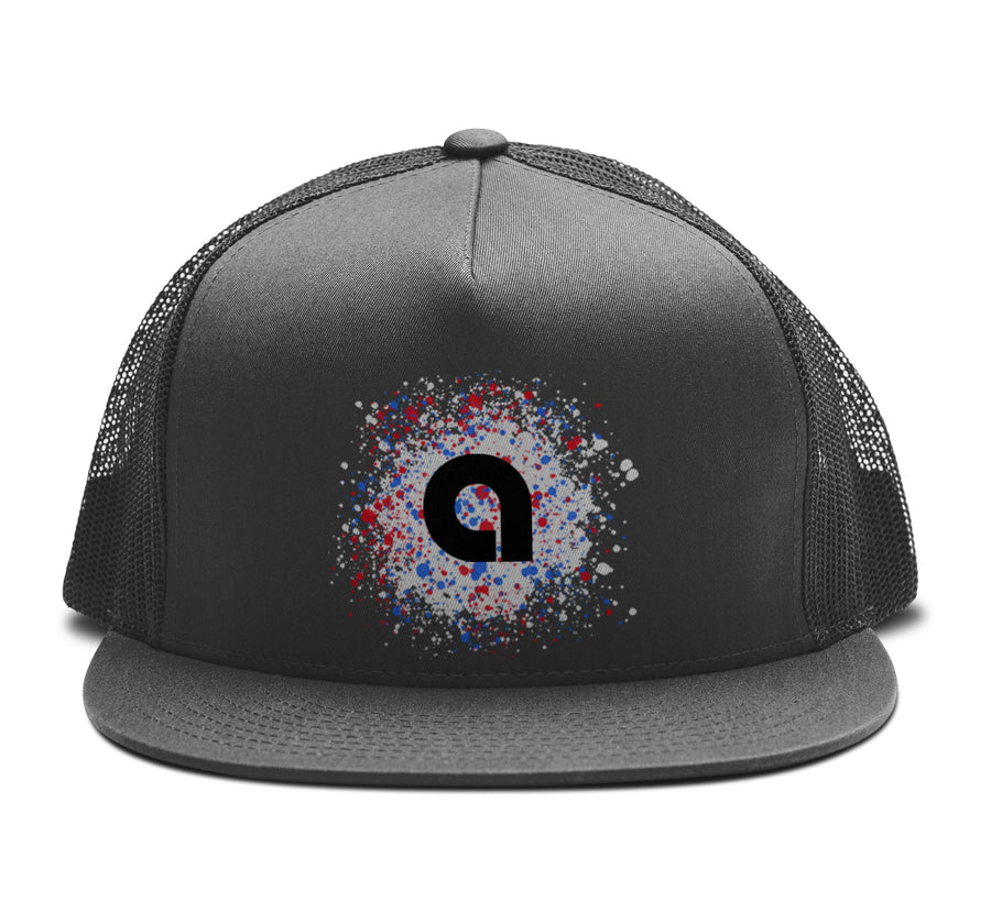 Dissolve - Trucker Snapback Hat - Band Merch and On-Demand Designer Shirts