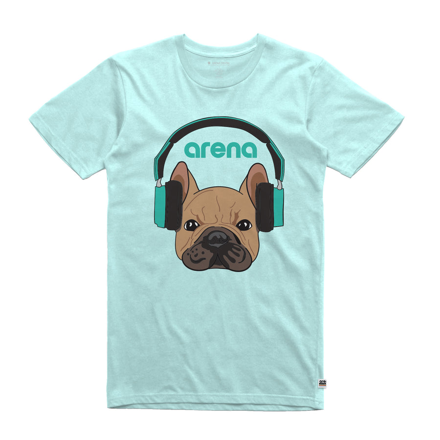 Dog-Eared Aqua Unisex Tee Shirt