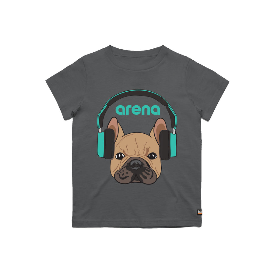 Dog-Eared Charcoal Kid's Tee Shirt