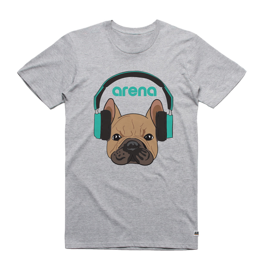 Dog-Eared Heather Grey Unisex Tee Shirt