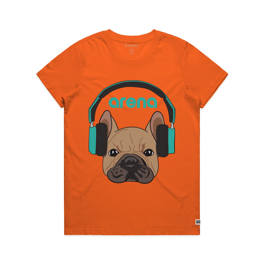 Dog-Eared Orange Women's Tee Shirt