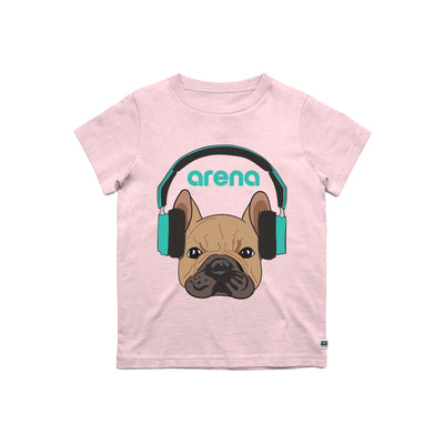 Dog-Eared Pink Kid's Tee Shirt
