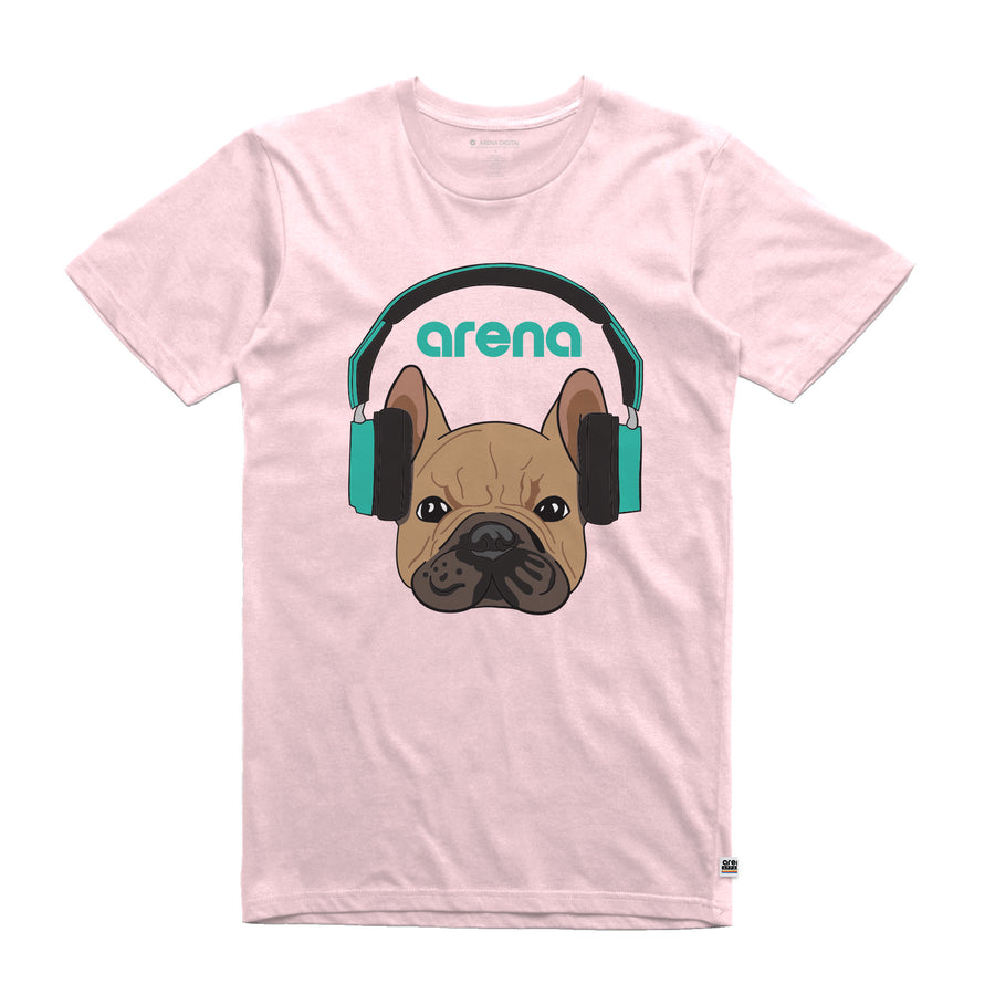 Dog-Eared Pink Unisex Tee Shirt