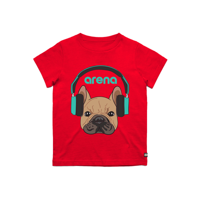 Dog-Eared Red Kid's Tee Shirt