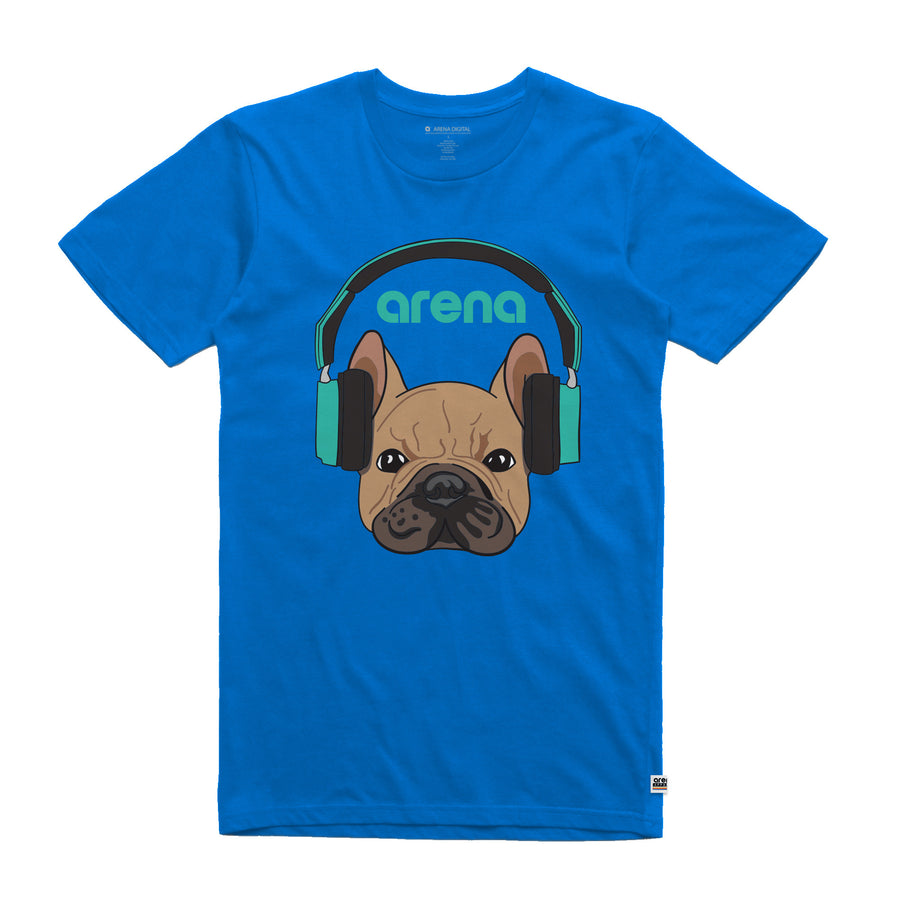 Dog-Eared Royal Blue Unisex Tee Shirt