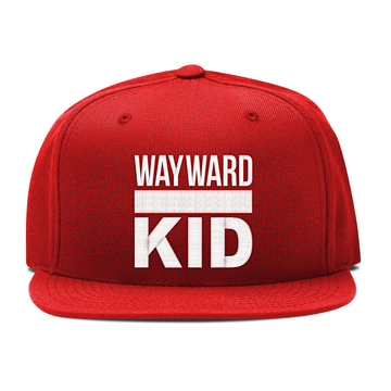 Wayward Kid - Embroidered Snapback Hat - Band Merch and On-Demand Designer Shirts