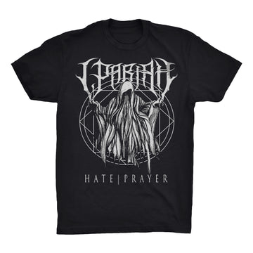 I, Pariah - Hate Prayer Unisex Tee Shirt - Band Merch and On-Demand Designer Shirts
