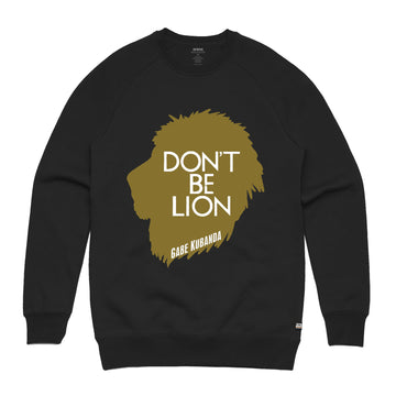 Gabe Kubanda - Lion Unisex Heavyweight Pullover Sweatshirt - Band Merch and On-Demand Designer Shirts