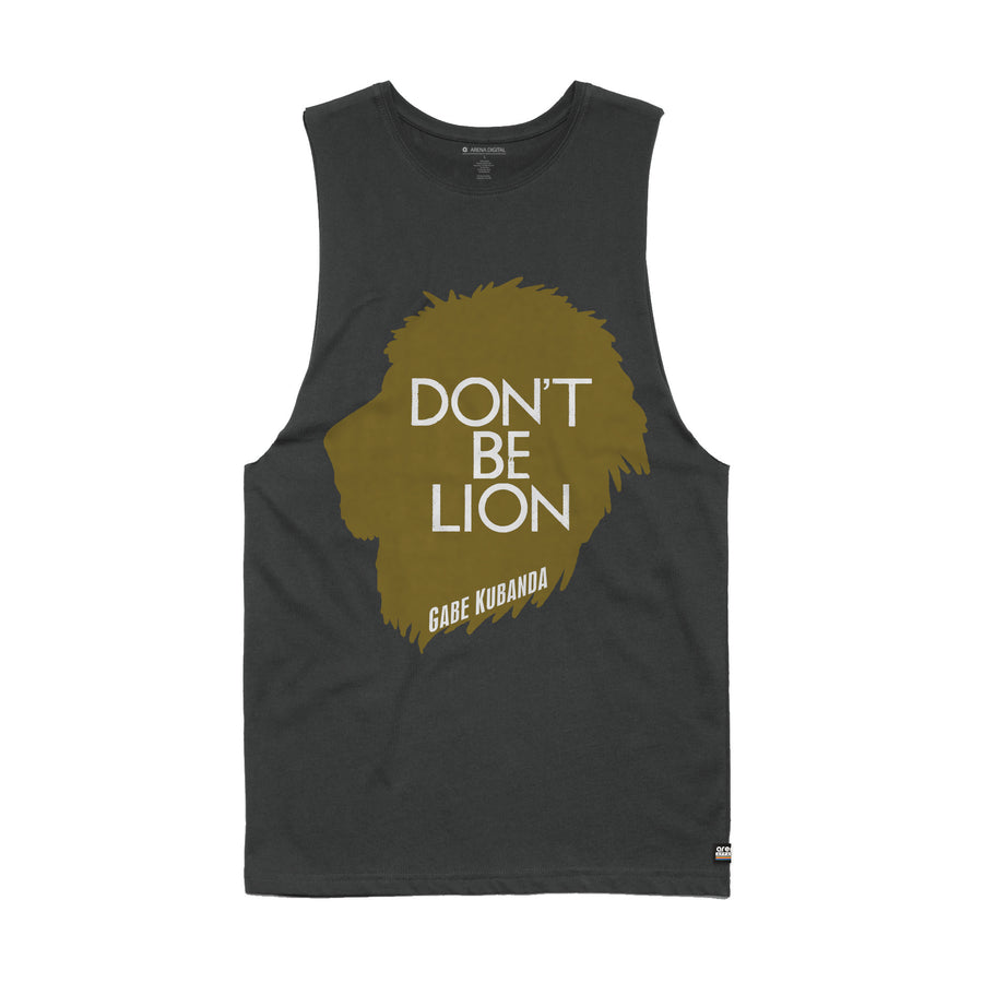 Gabe Kubanda - Lion Men's Sleeveless Tee Shirt - Band Merch and On-Demand Designer Shirts
