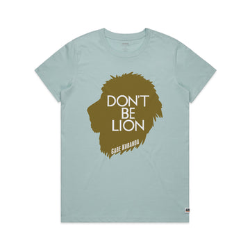 Gabe Kubanda - Lion Women's Tee Shirt - Band Merch and On-Demand Designer Shirts