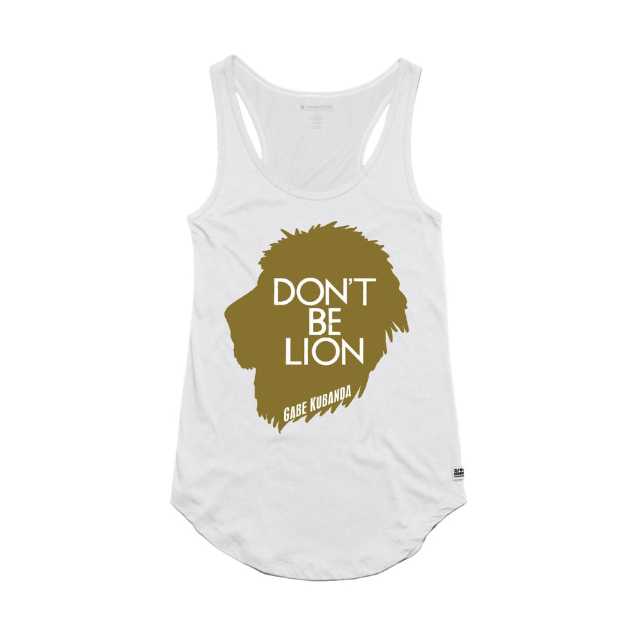 Gabe Kubanda - Lion Women's Tank Top - Band Merch and On-Demand Designer Shirts